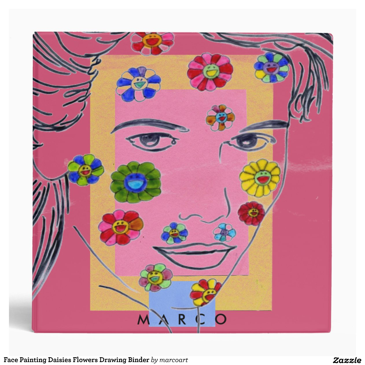 Face Painting Daisies Flowers Easy Flower Ideas