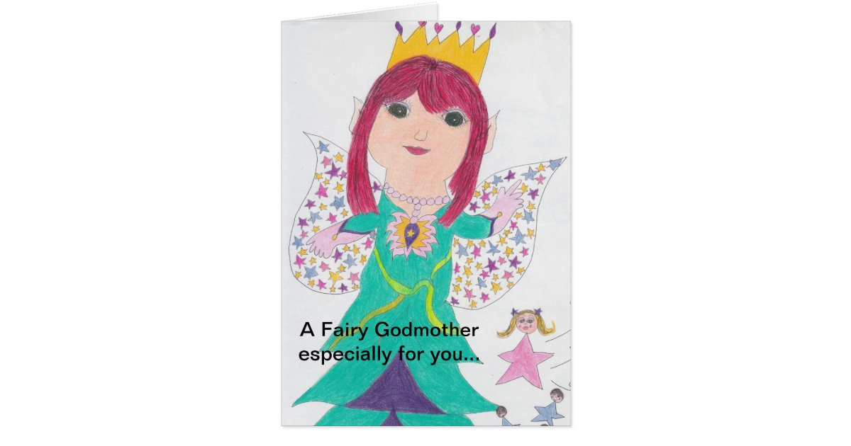 45 Best Birthday Wishes For Godmother: Fairy Godmother Birthday Wishes Card