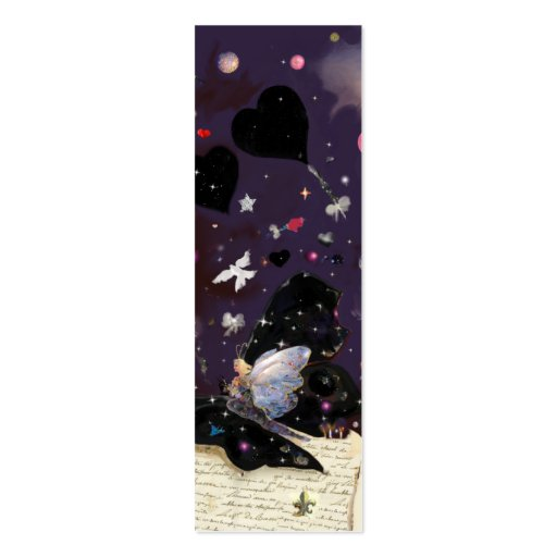 double sided bookmark template - fairy tales mini bookmark double sided mini business cards