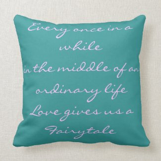 Pillows with Quotes - Words And Quotes Pillow Designs