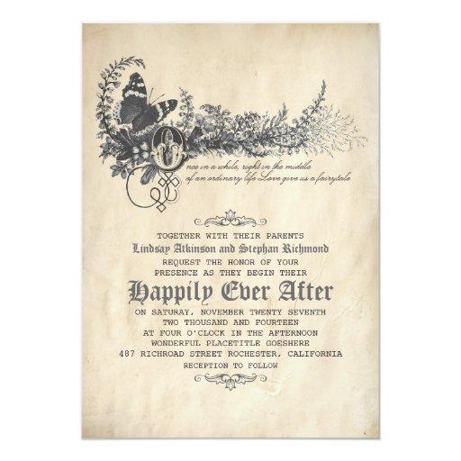 Fairytale Invitations Wedding: Fairytale Wedding Invitation