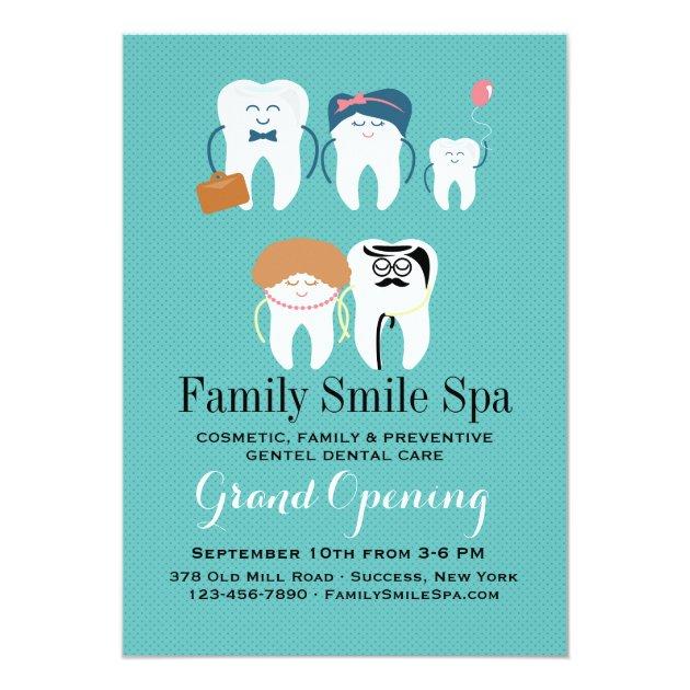 Personalized Dental School Graduation Invitations
