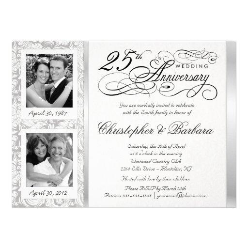 25th Anniversary Invitations, 2700+ 25th Anniversary