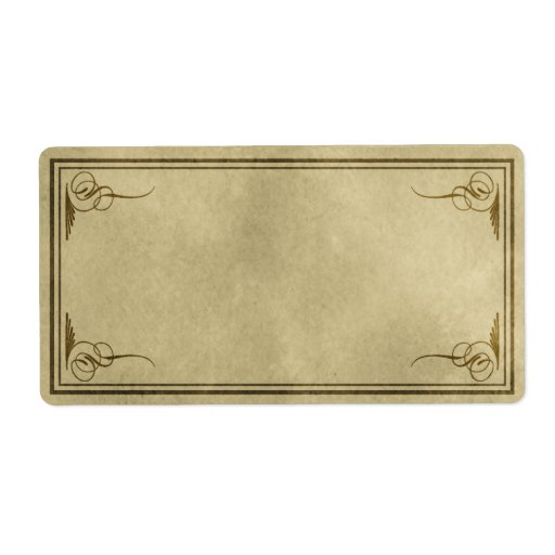 blank apothecary labels - photo #21