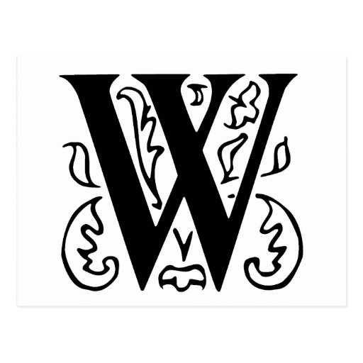 Fancy Letter E D...W Letter Design