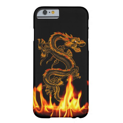 Fantasy Fire Dragon iPhone 6 case | Zazzle