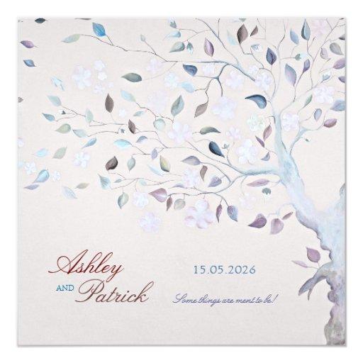 Fantasy Wedding Invitations: Fantasy Tree Wedding Invitation