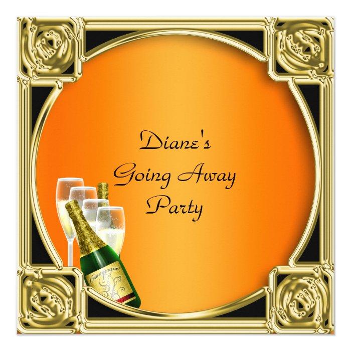 Farewell Party Invitation Card Farewell Party Invitation