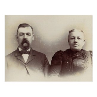 Father & Mother Lahr, York County, PA circa 1880