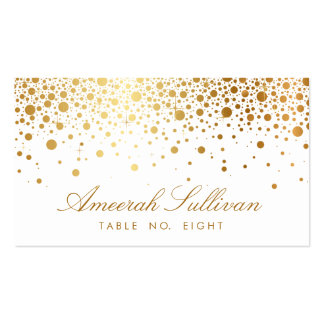 Wedding place card business cards and business card for Double sided place card template