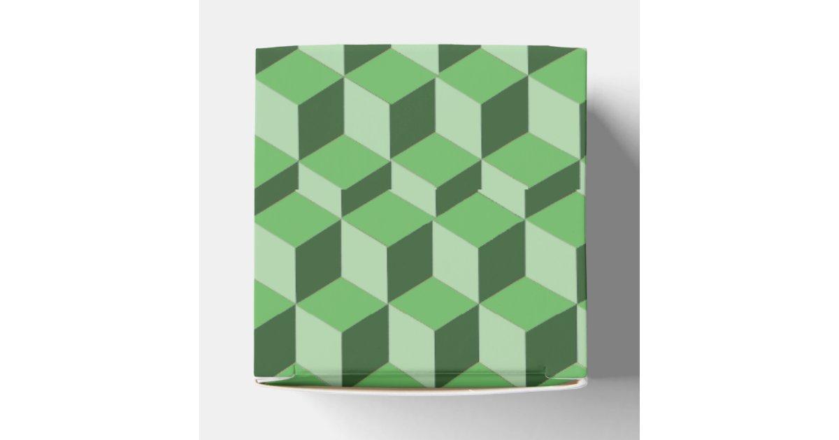 optical box illusion favor