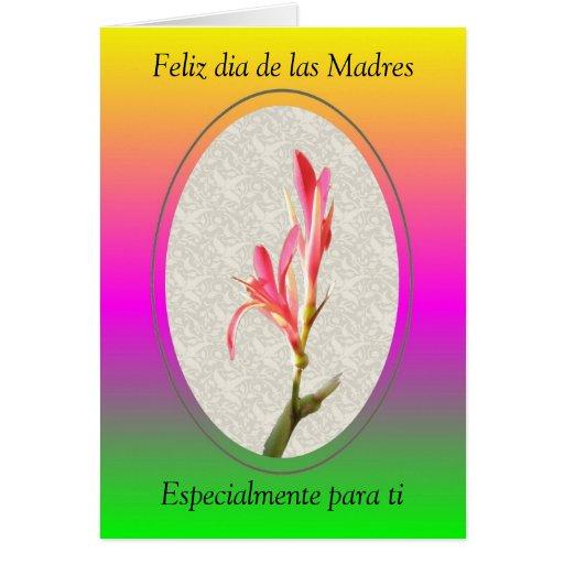 Feliz dia de las Madres, Especialmente... Card | Zazzle