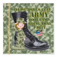 adult boot camp send off party