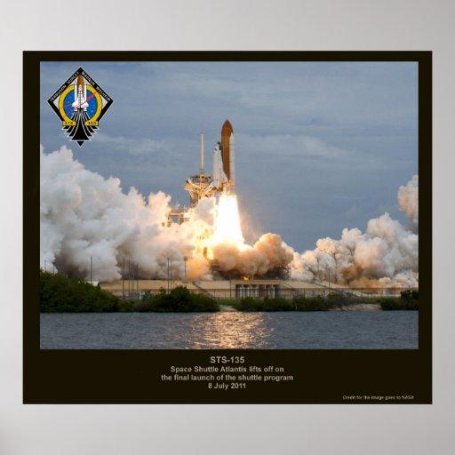 space shuttle atlantis poster - photo #21
