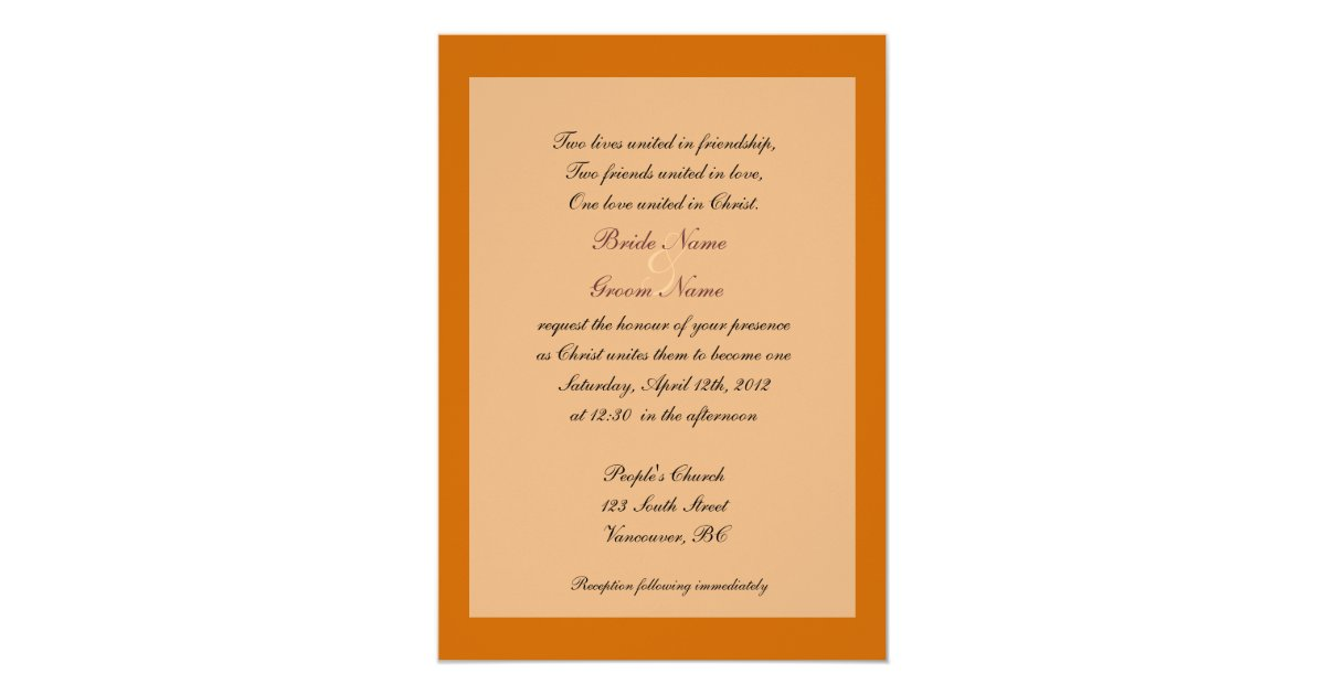 Fine Stationery Wedding Invitations: Fine Art Christian Fall Wedding Invitations