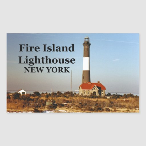 Fire Island Ny: Fire Island Lighthouse, New York Stickers
