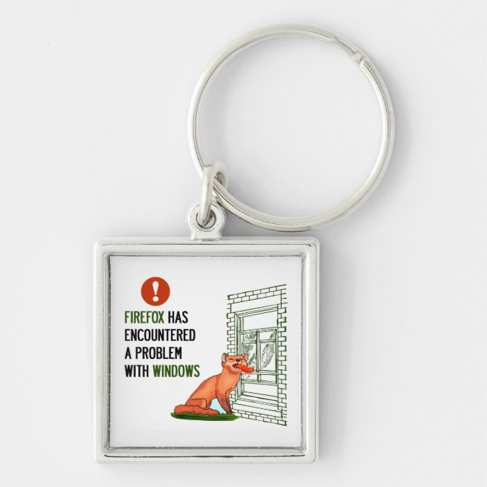 Firefox has encountered a problem with windows keychain on