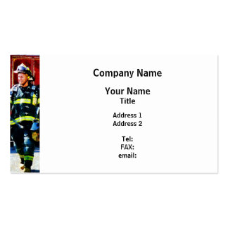 Fire Chief Business Card Template Images