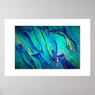 Green Fish Posters Zazzle