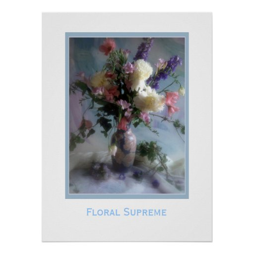 Floral Supreme Print   Zazzle