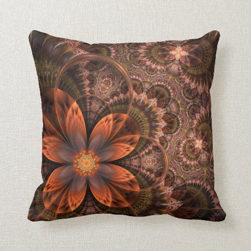 Flower Paisley Decorative Pillow Zazzle