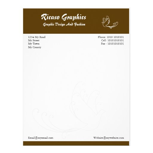 27 Personalized Stationery Templates: Free Letterhead, Custom Free Letterhead Templates