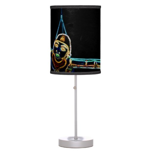 Flying Lady Neon Table Lamp Zazzle