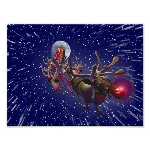 Real rudolph the red nosed reindeer flying - photo#36