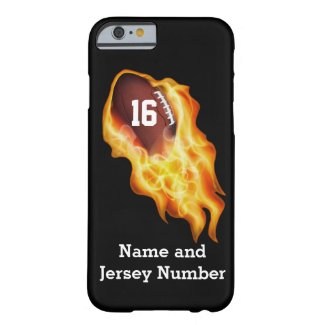 Football iPhone 6 Cases Personalized NAME, NUMBER iPhone 6 Case