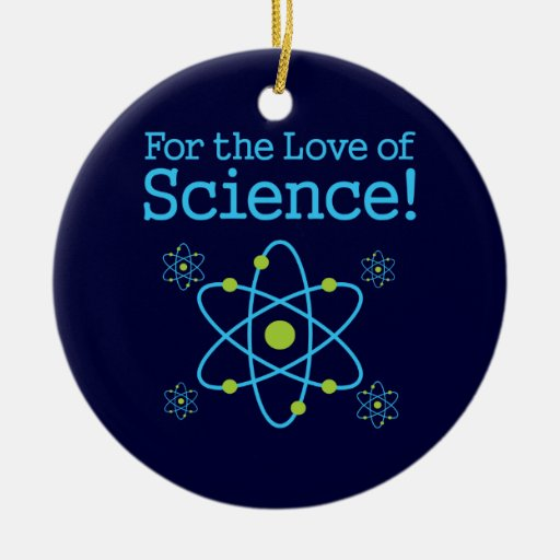 Science Facts Christmas: For The Love Of Science Atom Christmas Ornaments
