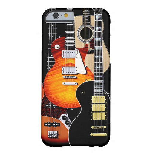 Guitar Cases Cool : four cool guitars barely there iphone 6 case zazzle ~ Russianpoet.info Haus und Dekorationen