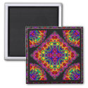 Fractal Fascination Kaleidoscope magnet