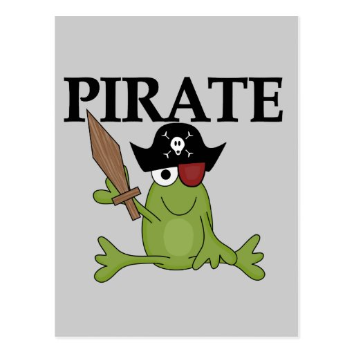 Pirate Frogs