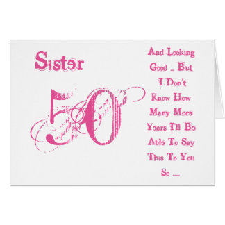 50th Year Birthday Wishes
