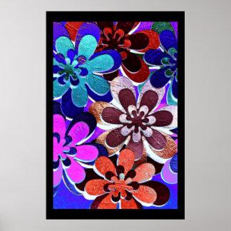 Funky Flower Posters | Zazzle