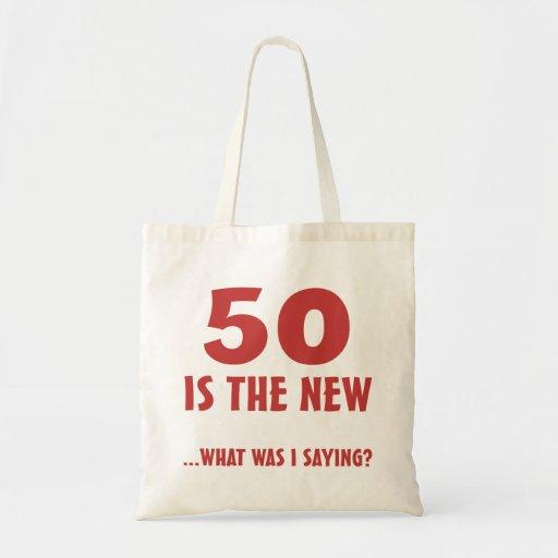 Funny 50th Birthday Gag Gifts Tote Bag