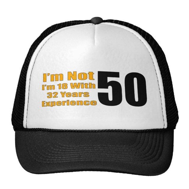 Funny 50th Birthday Hat 1