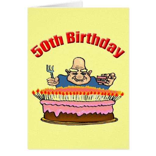 Funny Birthday Cards Invitations: Funny 50th Birthday Invitations Greeting Card