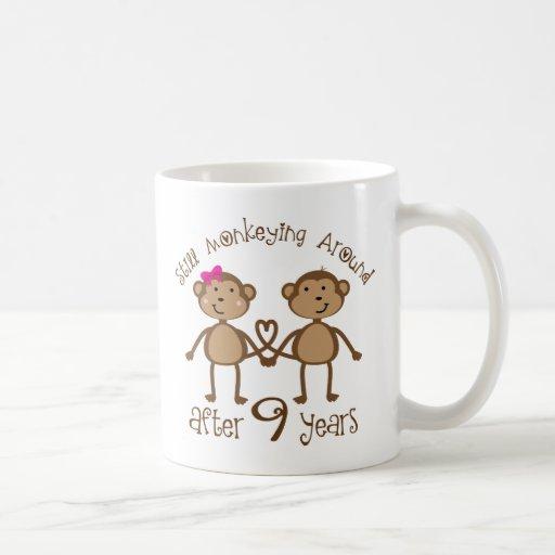 9th Year Wedding Anniversary Gift: Funny 9th Wedding Anniversary Gifts Coffee Mug