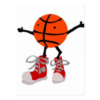 Basketball Cartoon Cards Zazzle