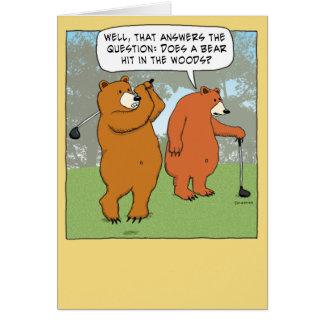 Funny Golf Birthday Cards Zazzle