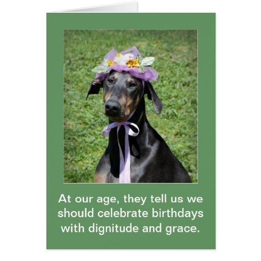 funny dog birthday card  zazzle