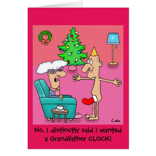 Funny Grandfather personalized Christmas card | Zazzle