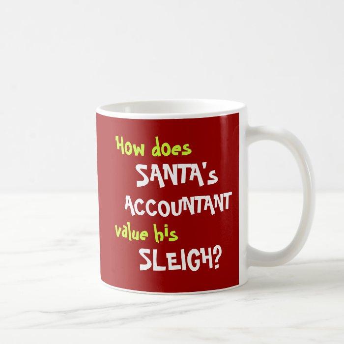 Christmas Accounting Jokes.Funny Santa Christmas Accounting Joke Mugs On Popscreen