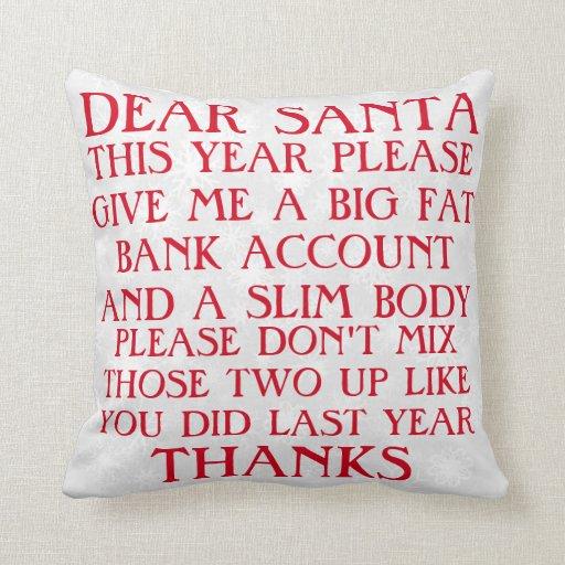 Funny santa christmas pillow re54d1183c5eb49e38d866911693356df 6s309 8byvr 512