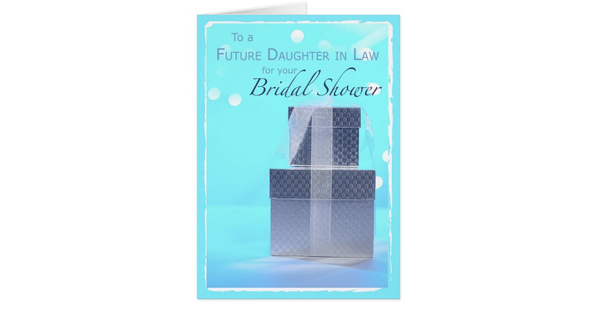 Future Mother In Law Gifts: Future Daughter-in-Law, Bridal Shower Gifts, Light Card