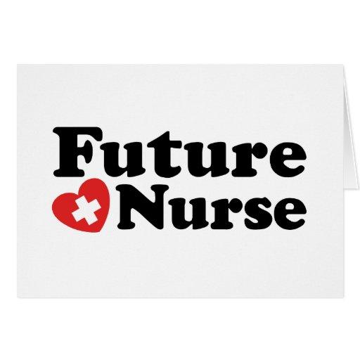 Future Nurse Cards | Zazzle