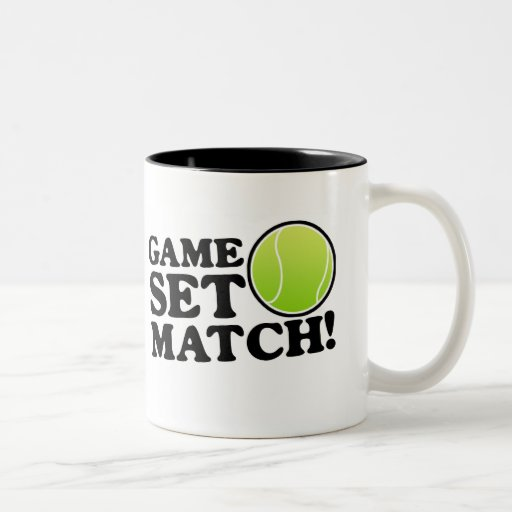 Game, Set, Match Coffee Mugs   Zazzle