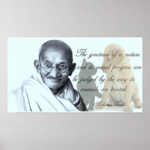 Animal rights quotes gandhi