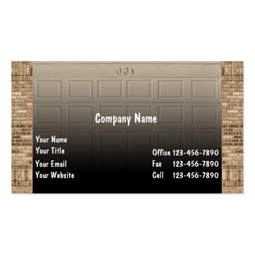 1 000 Home Repair Business Cards And Home Repair Business